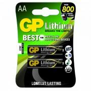 Baterie GP litowa, AA, 1.5V, 2-pack