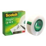 Taśma biurowa SCOTCH® Magic™ (810), matowa, 12mm, 33m