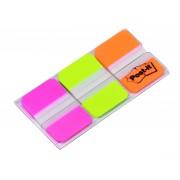 Zakładki indeksujące POST-IT® do archiwizacji (686-PGOEU), PP, silne, 38x25mm, 3x22 kart., mix kolorów pastelowy